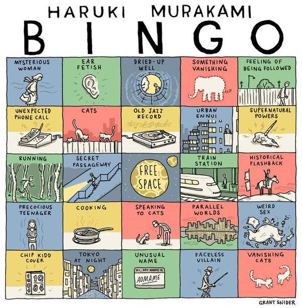 Murakami Bingo