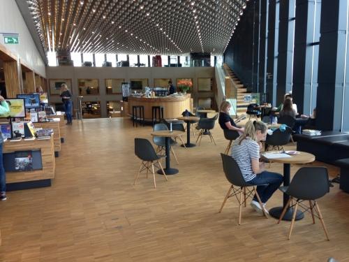 bibliotheek Amersfoort café